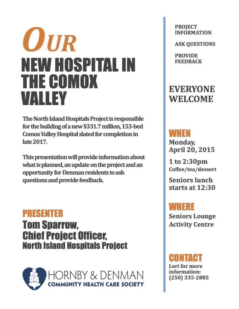 New Comox Valley Hospital Presentation - ad