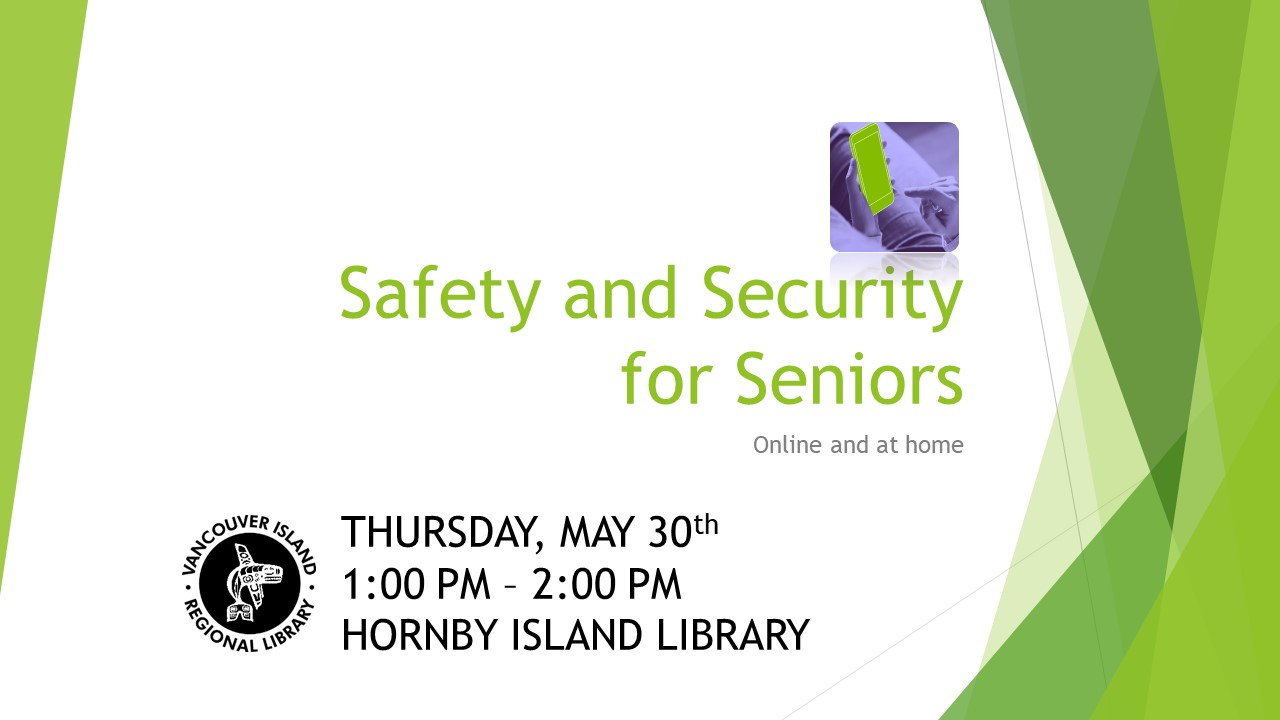Safety and Security for Seniors Hornby 2 (002)